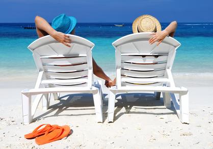 op vakantie met persoonlijke lening
