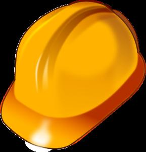veiligheidshelm bij renovaties